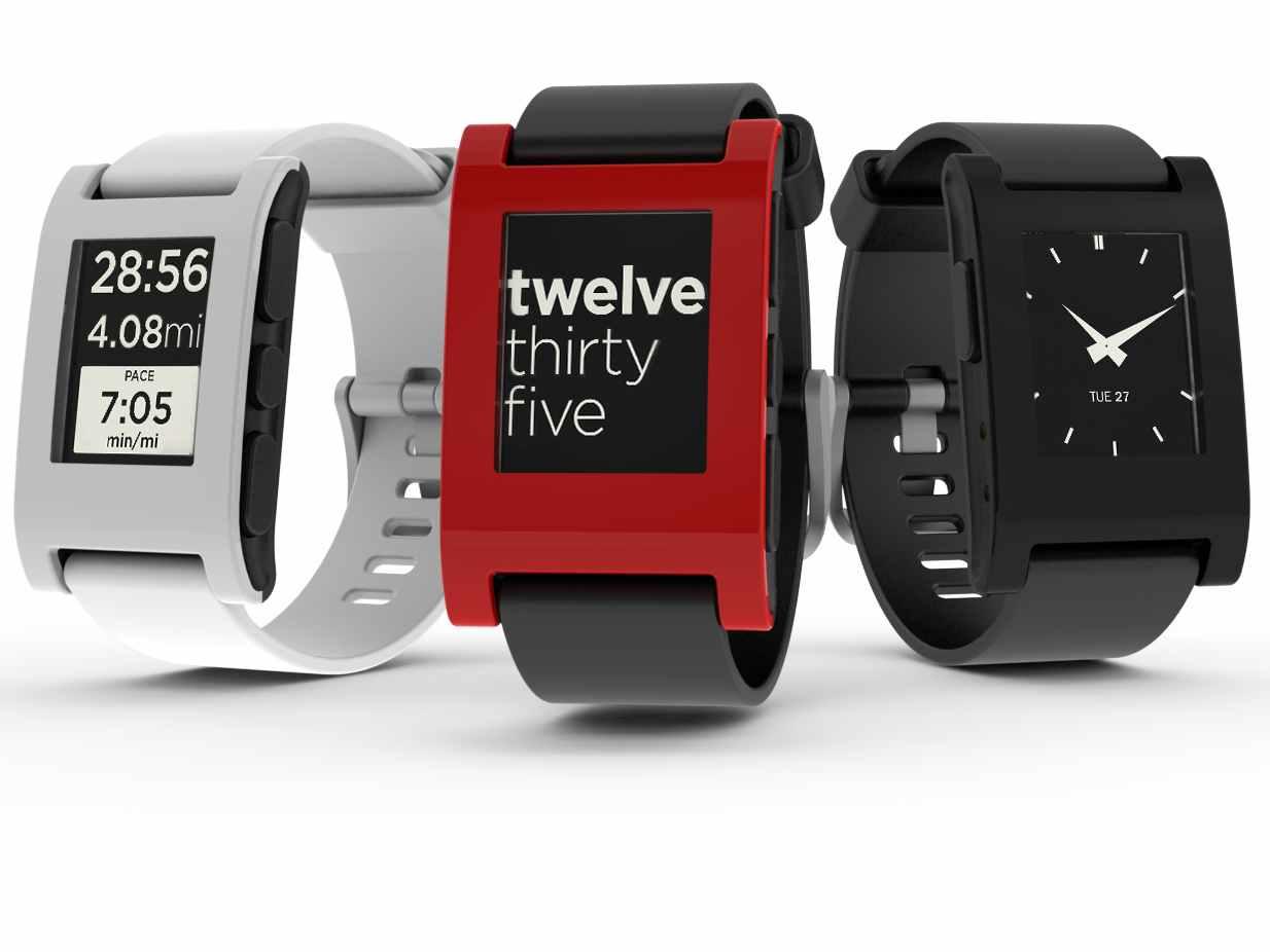 Pebble Watch - Best Budget Smart Watches 2015 Best Wearable Tech