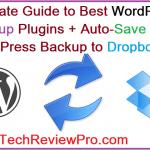 WordPress Backup to Dropbox Easily