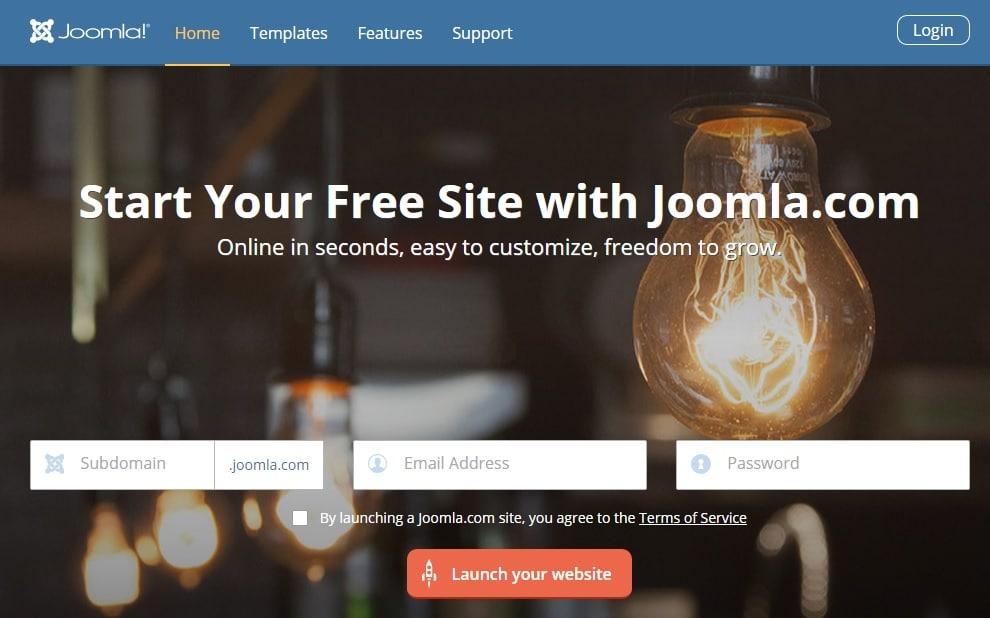 Joomla - Best Blog Site to Create Free Blog