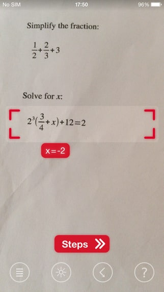 Photomath - Free Maths Equation Solver Instant Results