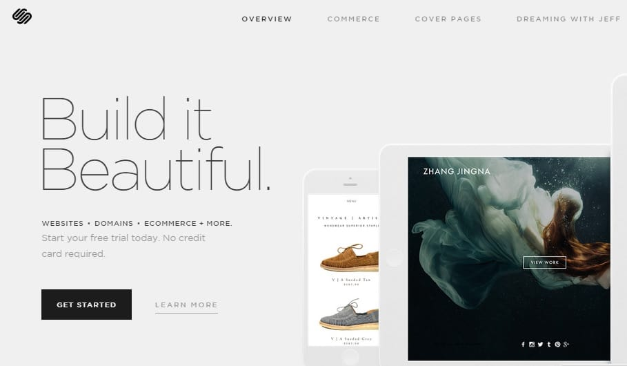 SquareSpace - Build a Website on Top Blog Sites Hosting Platform