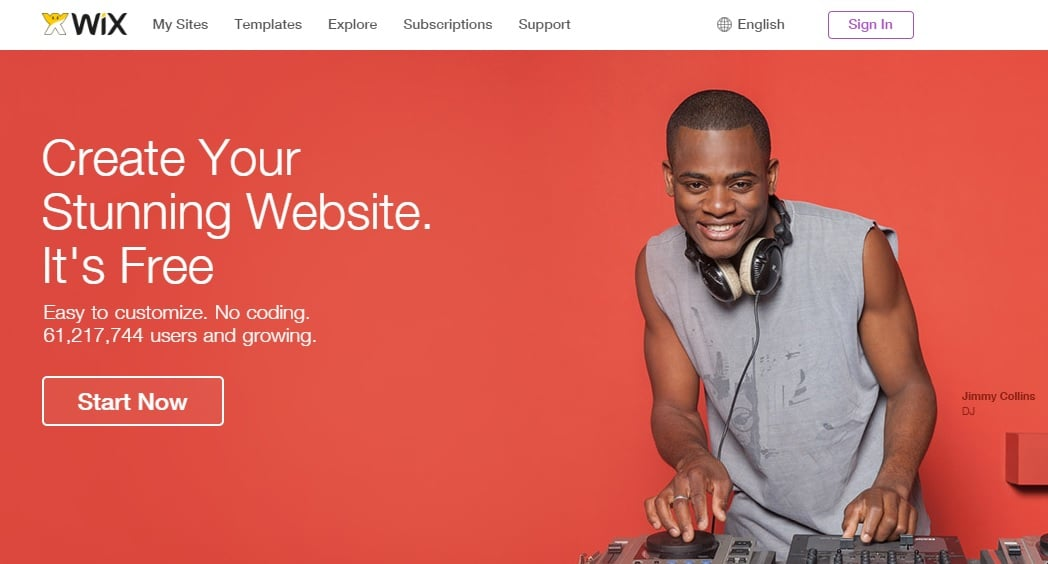 Wix - Free Website Builder to Create a Free Website