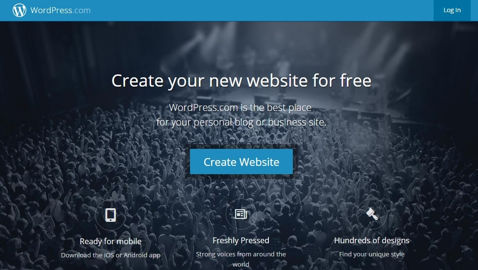 WordPress - Free Blog Site for Free Site Hosting and Starting A Blog