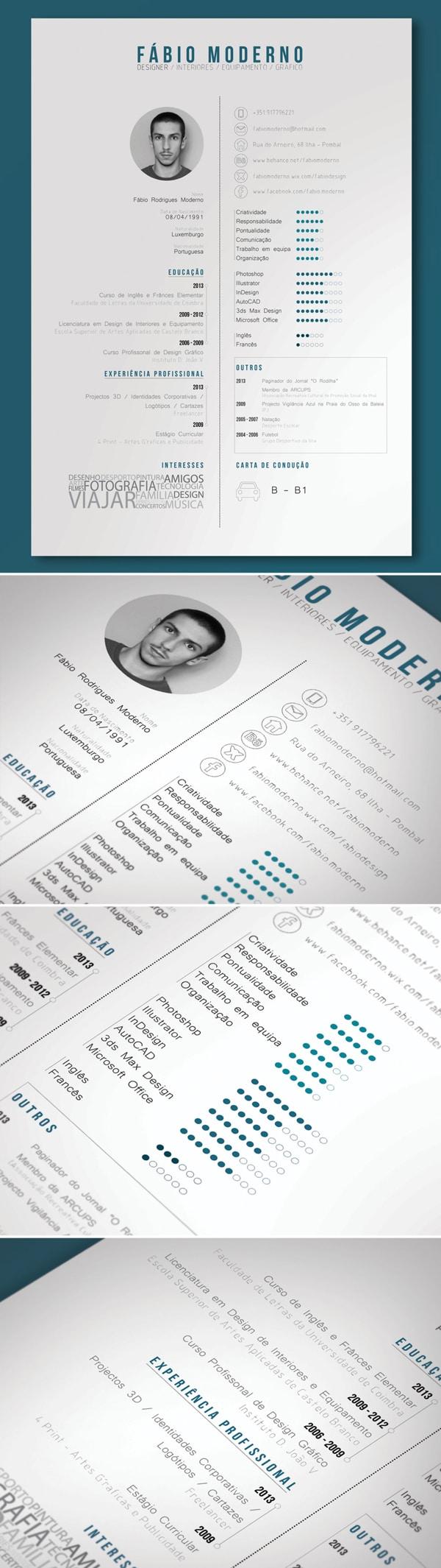 55 amazing graphic design resume templates to win jobs