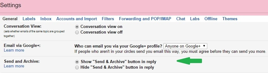 how to look up archived emails in gmail