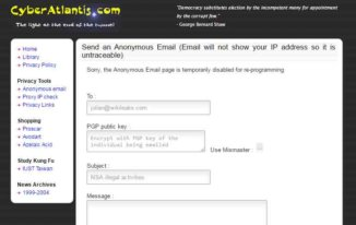 cyberatlantis - Anonymous email service providers - Best Free Anonymous Email Service Providers to Send Email Anonymously