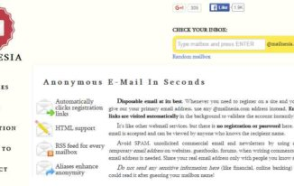 mailnesia - Anonymous email service providers - Best Free Anonymous Email Service Providers to Send Email Anonymously