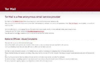 tor-mail - Anonymous email service providers - Best Free Anonymous Email Service Providers to Send Email Anonymously