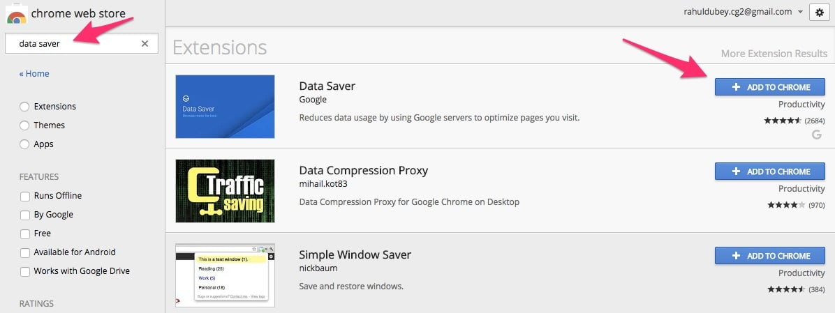 Save Data in Chrome with Data Saver Extension - Best Extension for Limited Data Users