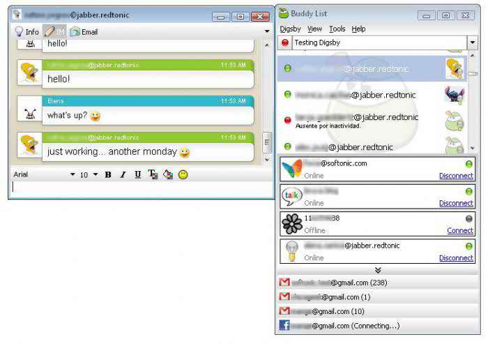 Digsby - Best Windows Instant Messenging Program client for Windows