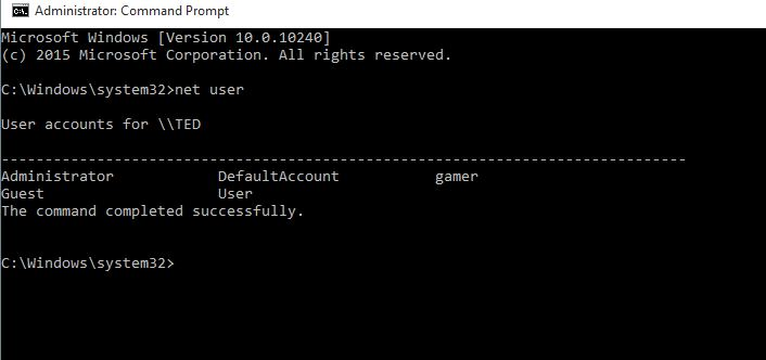 Create User Account Using Command Prompt - How to Add/Create User Account Using Command Prompt in Windows 10?