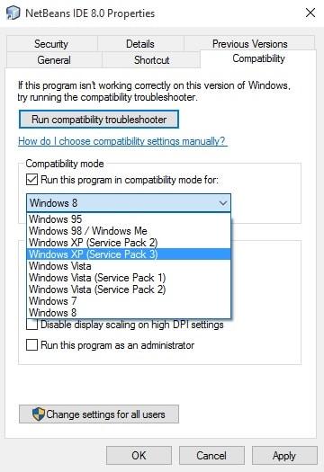 Run Older Version of Programs on Newer Version of Windows - How to Run the Older Version of Programs on Windows 10?