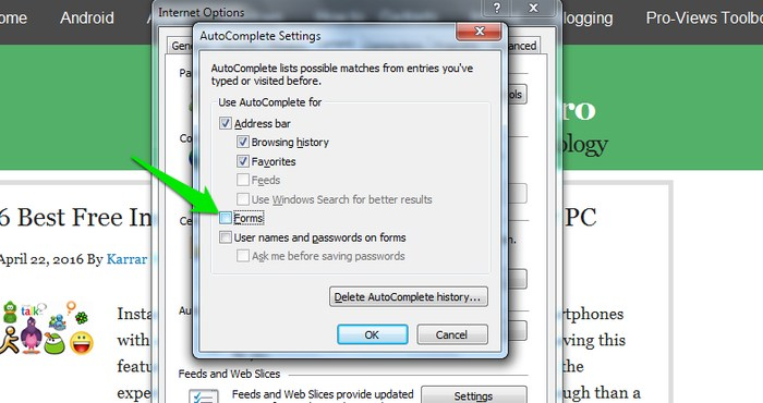 Disable-Autofill-in-Browser-Disable-forms - How to Clear Autofill: How to Delete Autofill in Chrome & other Browsers?
