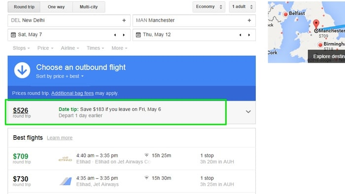 Google-Flights-Tips - Google Flights Search Tricks - Check Google Flights Status - 6 Google Flights Status Checking Tips to Become a Google Flights Guru