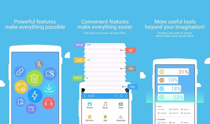 ES File Explorer-Recycle bin on Android - Best Free Android Recycle Bin Apps to Recover Deleted Important Data