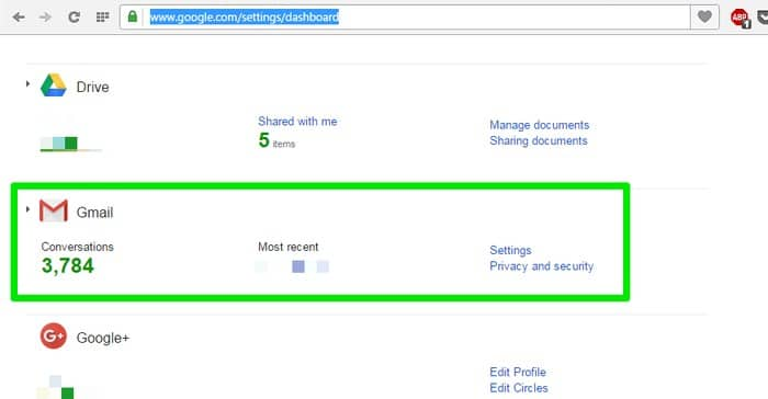 Gmail-last-activity-Dashboard - See Your Gmail Account Activity to Detect Suspicious Activity in Gmail