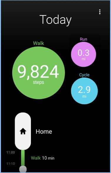 Moves Pedometer App for Android - Best iOS Pedometer - Free Android Pedometer and Step Counter App