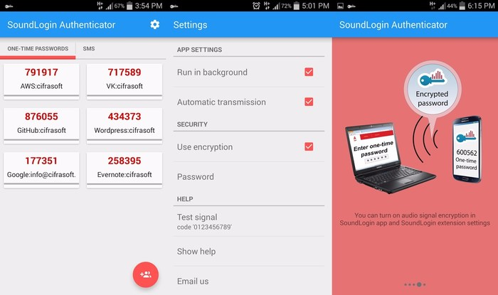 Sound Login Authenticator - Tools Like Google Authenticator: Google Authenticator Alternatives to Secure Your Online Accounts