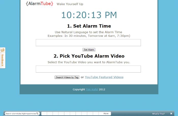 AlarmTube - Loud Alarm Clock Online: Top 8 Best Free Online Alarm Clock for Heavy Sleepers