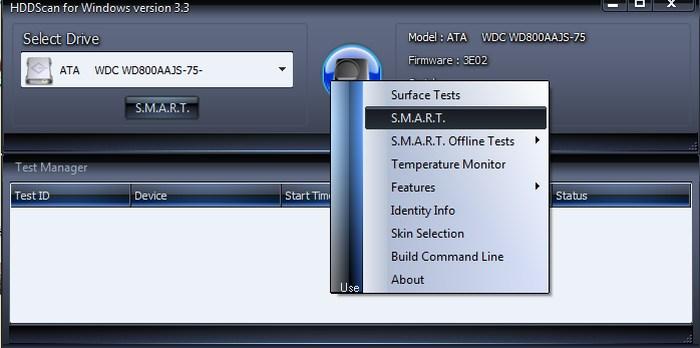 HDDScan-hard-disk-health-monitoring-software - Check Hard Drive Health - Best Hard Drive Health Monitoring Tools to Check Hard Drive Health