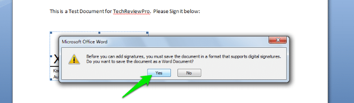 How to Sign a Word Document Digitally - Insert Electronic Signature in Word - How to Create Digital Signature in Word