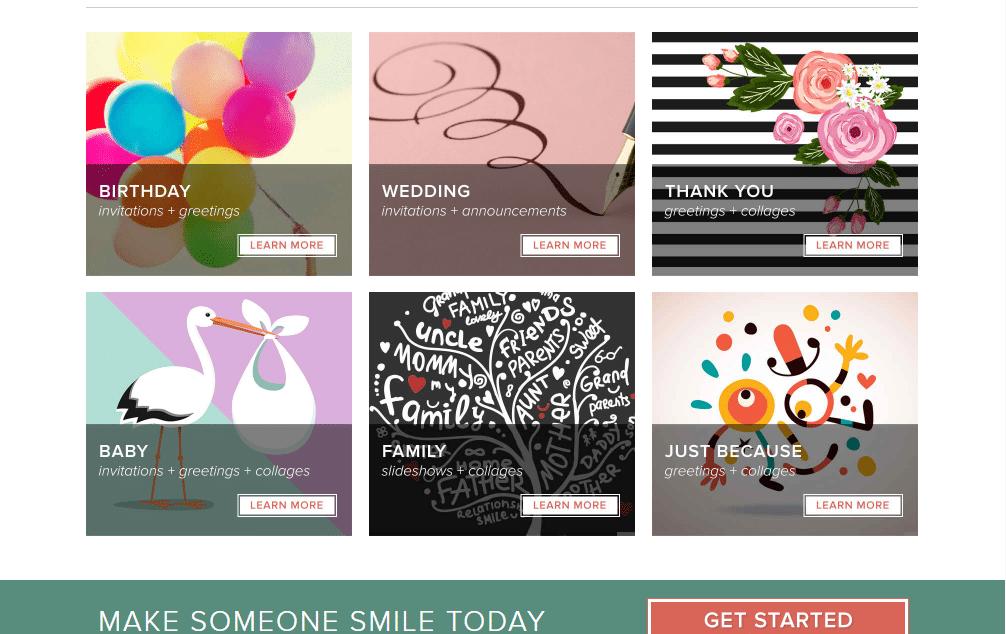 Smilebox - Evite Alternatives: Top 7 Best Evite Alternatives to Send Invitations Online
