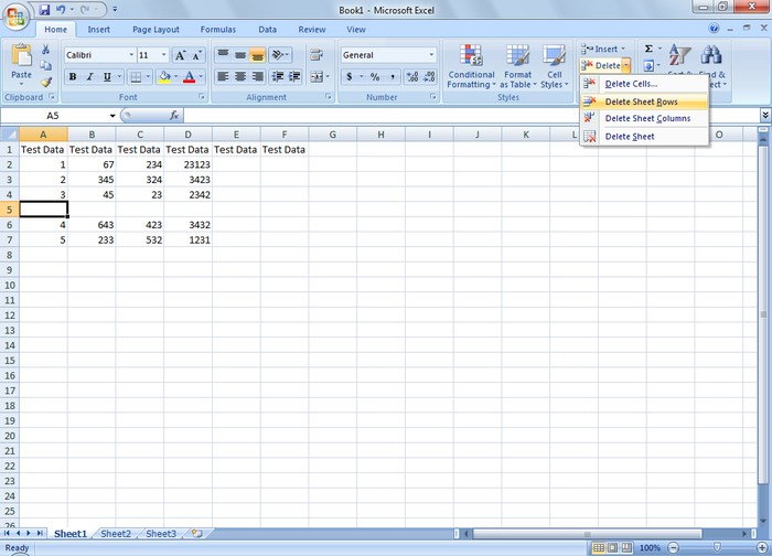 Blank Rows in Excel - How to Remove Blank Rows in Excel?