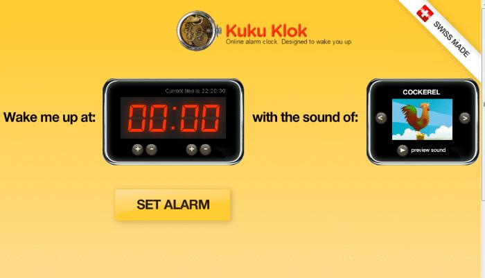 Kukuklok - Loud Alarm Clock Online: Top 8 Best Free Online Alarm Clock for Heavy Sleepers