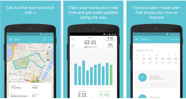 Runkeeper GPS Track Run Walk Android Pedometer Apps - Best Pedometer Apps for Android - Step Counter App for Android - Most Accurate Calorie Counter App