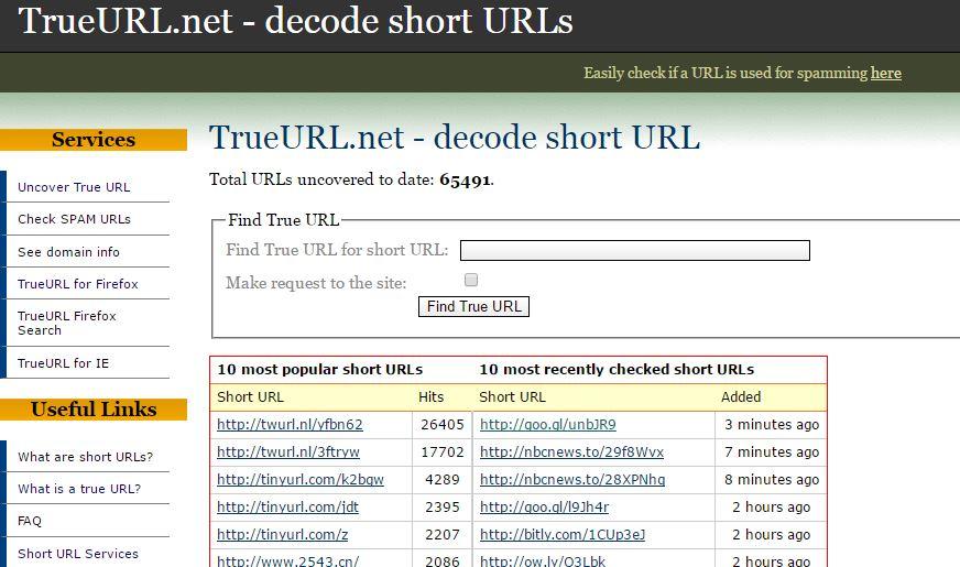 TrueURL Short URL Decoder - Decode URL Online: 6 Best Online URL Decoder to Know Original URL