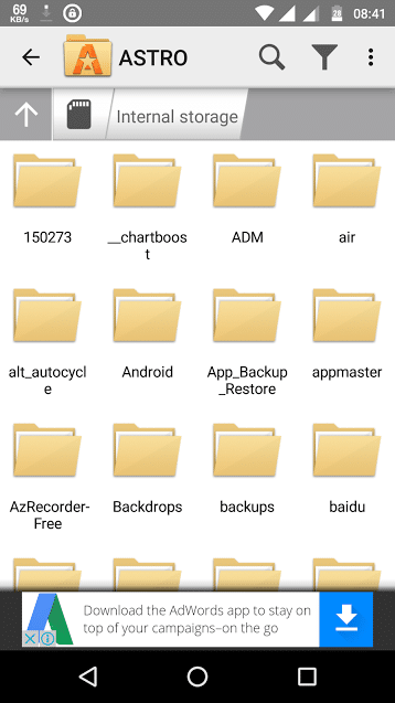 astro file manager - best file managers for Android - Best Android File Manager & Explorer Apps for Better File Management