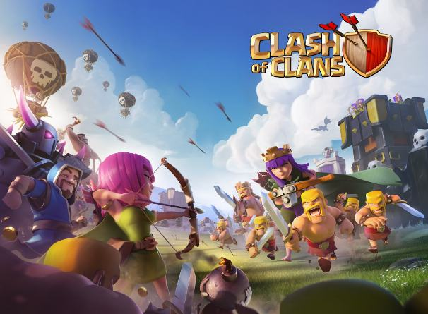 clash of clans - best multiplayer games - Games to Play with Friends - Top 8 Best Android Multiplayer Games to Play with Friends