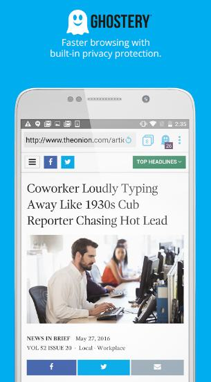 ghostery - private browser for android - Best Android Browser: Top 5 Best Free Web Browsers For Android