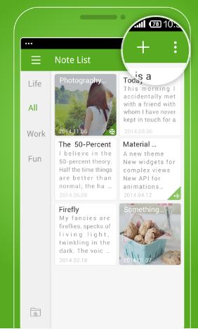 Gnotes - best note taking apps for android - Best Note Taking App for Android - Best Android Note Taking Apps