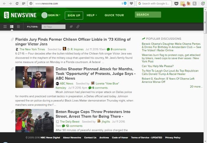 NEWSVINE - Sites Like Reddit - Websites Like Reddit - Reddit Alternatives - Sites Similar to Reddit