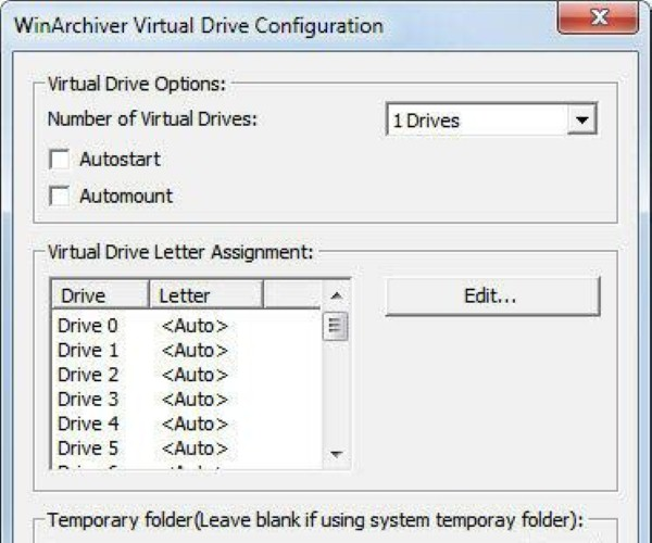 WinArchiver Virtual Drive ISO Mounting Software - Best ISO Mounting Software to Mount ISO Files - How to Mount an ISO Files - Best Free ISO Mounting Software