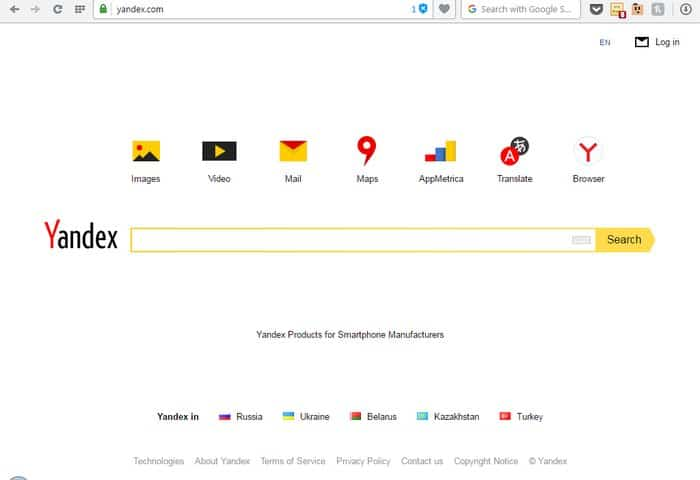 Yandex - Google Alternatives: Top 10 Best Search Engines Other than Google