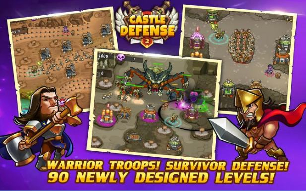 castle defence - Best Tower Defense Games for Android - Top 10 Best Android Tower Defense Games [Free and Paid]