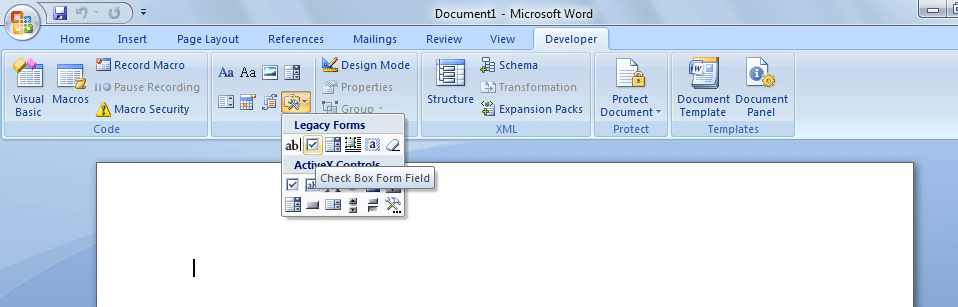 checkbox - Insert a checkbox in Word: How to Insert a Checkbox in Word Easily