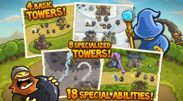 kingdom rush - best tower defence games - Best Tower Defense Games for Android - Top 10 Best Android Tower Defense Games [Free and Paid]