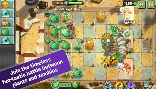 plants vs zombies 2 - tower defence games - Best Tower Defense Games for Android - Top 10 Best Android Tower Defense Games [Free and Paid]
