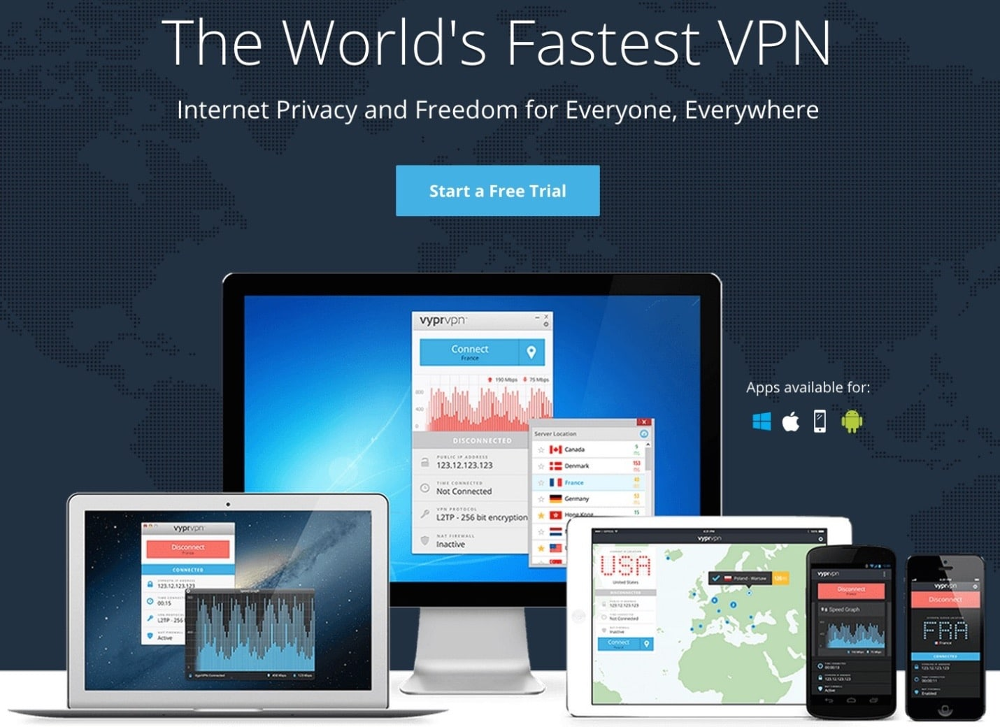 VyprVPN - Top 10 Best VPN Service Providers for Highly Secure Private Internet Access