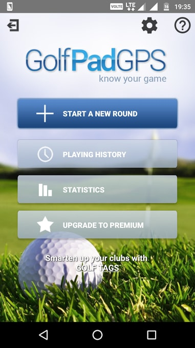 golf pad - best golf apps for android - Best Golf Apps for Android - Best Golf GPS App for Android