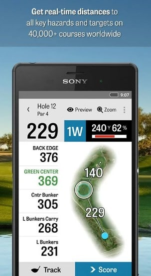 golf shot - Best Golf Apps for Android - Best Golf GPS App for Android