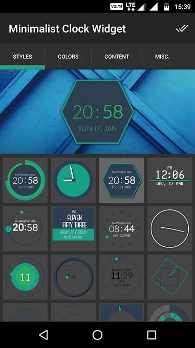 minimalist clock widget - Best Clock Widgets for Android - Top 8 Best Clock Widgets for Android to Better Customize Home Screen