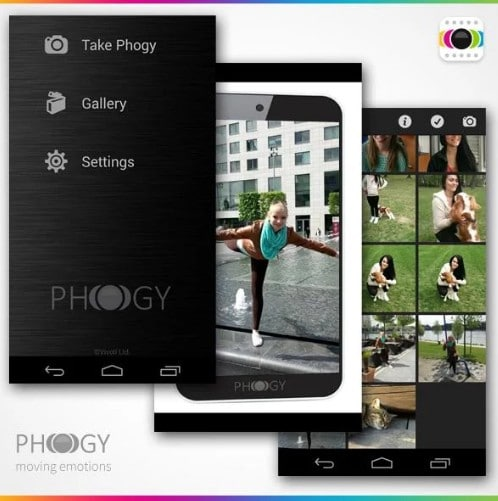 phogy ed - best 3d camera apps for android - Top 5 Best 3D Camera Apps for Android to Capture 3-Dimensional Images