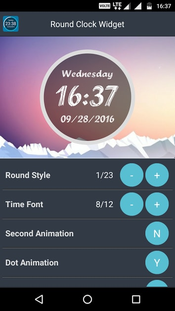 round clock widget - Best Clock Widgets for Android - Top 8 Best Clock Widgets for Android to Better Customize Home Screen