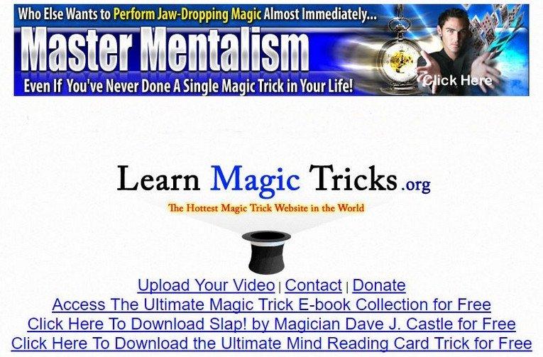 Learn Magic Tricks - Free Magic Tricks Sites - Excellent Free Magic Tricks Sites to Learn Secret Magic Tricks & Hacks