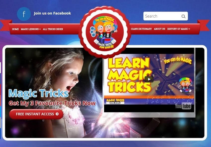 Magic Tricks for Kids - Best Magic Trick Sites - Excellent Free Magic Tricks Sites to Learn Secret Magic Tricks & Hacks