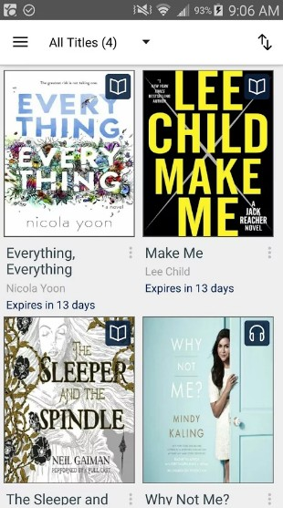 overdrive - best audiobook apps - Best Audiobook App - Top 7 Best Audiobook Apps for Android
